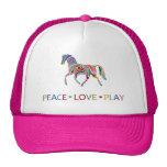 Rainbow Pony Hats