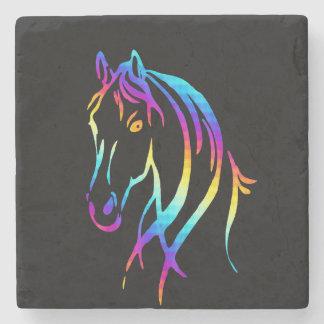 Rainbow Pony Stone Coaster