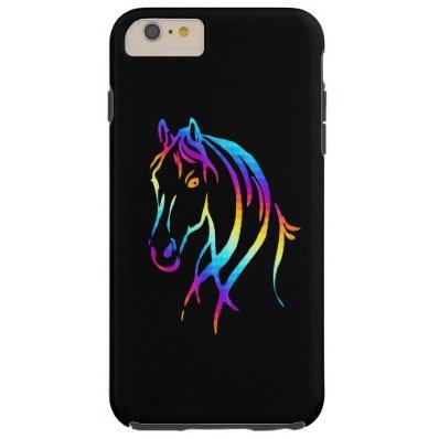 Rainbow Pony Tough iPhone 6 Plus Case