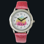 """Rainbow Poo Emoji Watch<br><div class=""""desc"""">What a fun watch for any girl who loves rainbows,  emojis and poop!  Lol! Omg!</div>"""