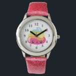 "Rainbow Poo Emoji Watch<br><div class=""desc"">What a fun watch for any girl who loves rainbows,  emojis and poop!  Lol! Omg!</div>"