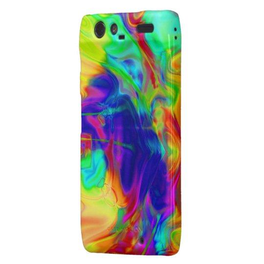Rainbow Pool Droid Razr Phone Case