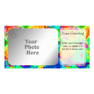 Rainbow Pool PhotoCard Template Picture Card