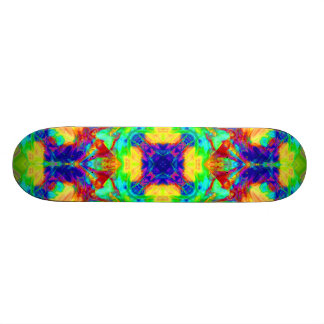 Rainbow Pool Skateboards