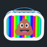 "rainbow poop emoji lunch box lunchbox<br><div class=""desc"">vaporwave, psychedelic, ombre&quot;rainbow poop emoji&quot;&quot;rainbow poo emoji&quot;, emoji, &quot;rainbow emoji&quot;, &quot;poo emoji&quot;, &quot;poop emoji&quot;, hipster emoticon, funny, gag, gift, , kawaii, poo, poop, poop emoji, trendy, rainbow, , gradient &quot;happy face&quot; stripes striped &quot;vertical stripes&quot; &quot;hot pink&quot;fuchsia fushia purple yellow blue lime green white black neon brown unisex &quot;funny emoji&quot;&quot;funny poop&quot;&quot;funny...</div>"