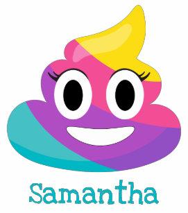 2d4114638d Rainbow Poop Emoji Toddler T-shirt
