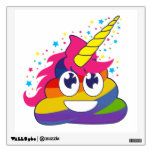 Rainbow Poop Unicorn Emoji Wall Decal<br><div class='desc'>What a fun way to decorate your walls... especially if you love rainbows,  poop,  unicorns and emojis! Lol! Omg!</div>