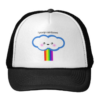 Rainbow Pooper Trucker Hat