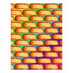 Rainbow Pop Art Cakes Letterhead