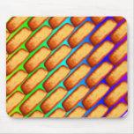 Rainbow Pop Art Cakes Mousepads