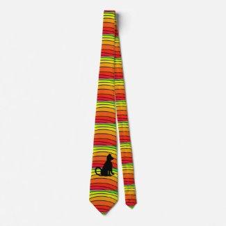 Rainbow Pop Art Cats Fun Summer CricketDiane Tie