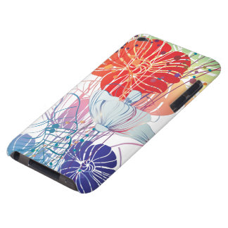 Rainbow Poppies - Case - 2 iPod Touch Cases
