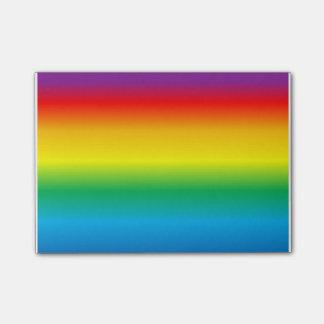 rainbow post-it® notes