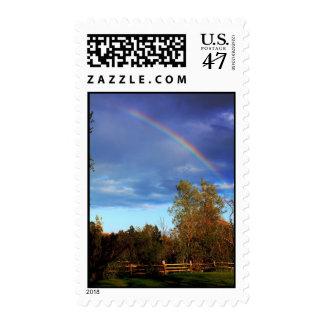 Rainbow Postage
