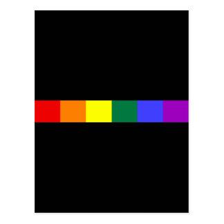 Rainbow Post Card