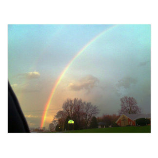 Rainbow!!! Postcard