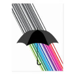 rainbow postcards