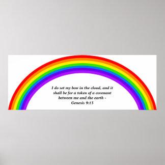 Rainbow, Poster
