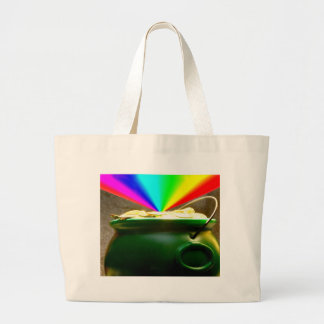 Rainbow Pot of Gold Tote Bags