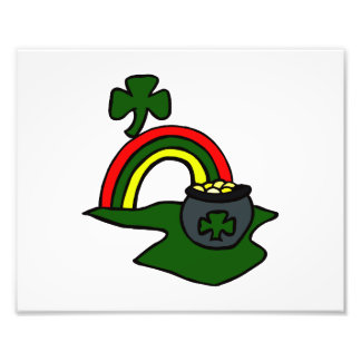 rainbow pot of gold clover graphic.png photo print