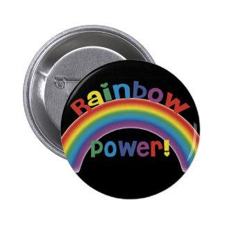 Rainbow Power! 2 Inch Round Button