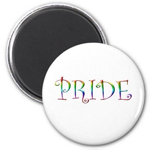 Rainbow PRIDE 2 Inch Round Magnet