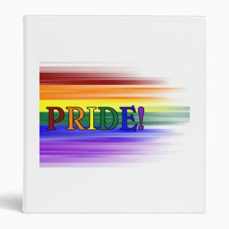 Rainbow Pride Binder