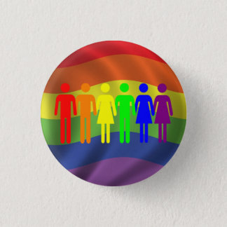 Rainbow Pride Button