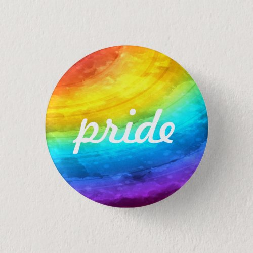 Rainbow Pride Button
