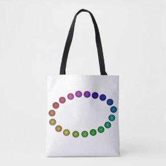 Rainbow PRIDE Diversity Artsy Tote Bags