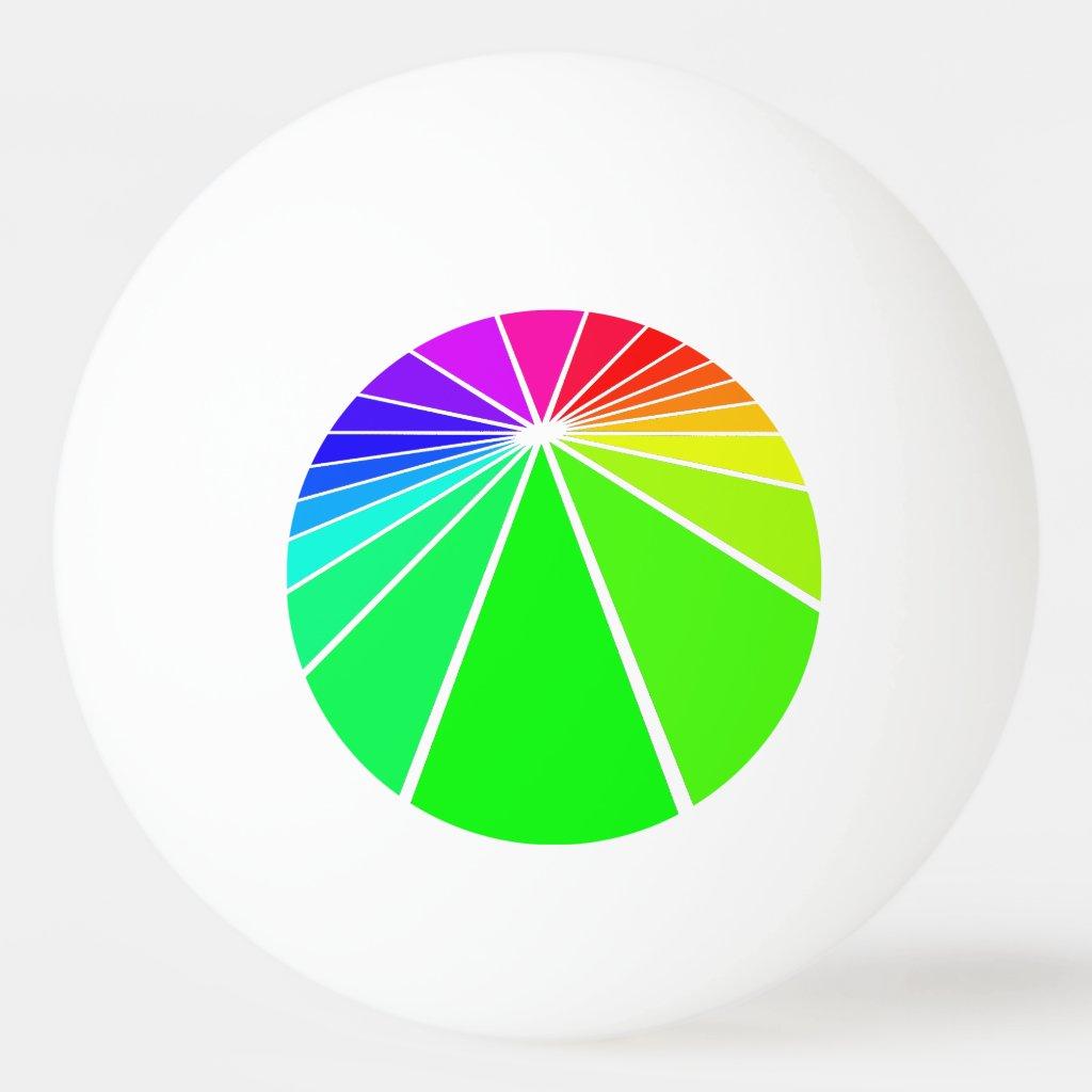 Rainbow PRIDE Diversity Ping Pong Balls Sports