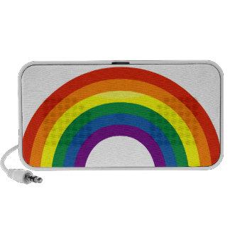 Rainbow Pride Doodle Notebook Speakers