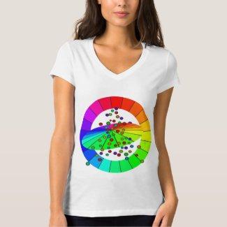Rainbow PRIDE Equality Diversity Rainbows Activism T-Shirt