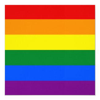 Rainbow Pride Flag Card