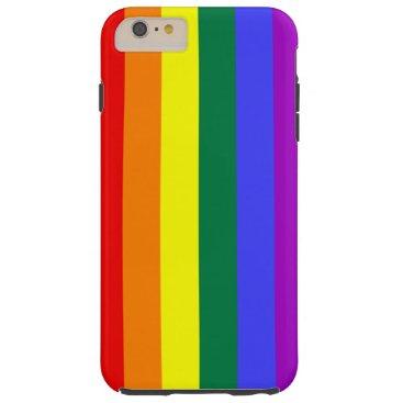 Rainbow Pride Flag Tough iPhone 6 Plus Case