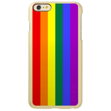 Rainbow Pride Flag Incipio Feather Shine iPhone 6 Plus Case