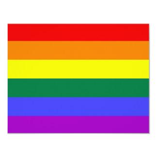 Rainbow Pride Flag Invitation
