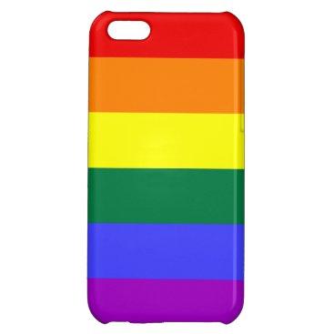 Rainbow Pride Flag Case For iPhone 5C
