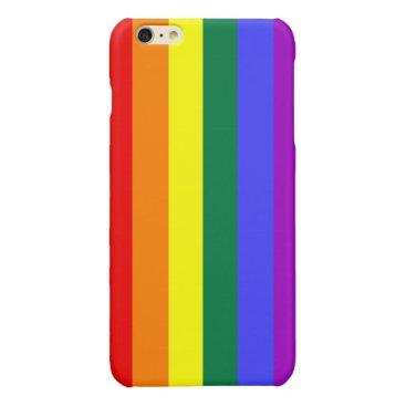 Rainbow Pride Flag Glossy iPhone 6 Plus Case