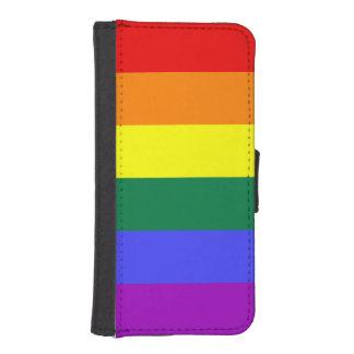Rainbow Pride Flag iPhone SE/5/5s Wallet