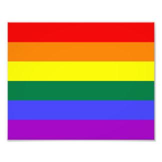 Rainbow Pride Flag Photo Art