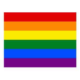 Rainbow Pride Flag Postcard