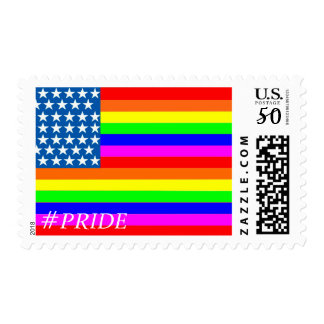 Rainbow Pride Flag Stamps