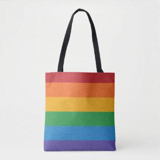 Rainbow Pride Flag Tote Bag