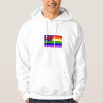 rainbow pride gay marriage equality hoodie