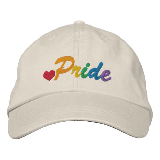 Rainbow Pride Gay Themed Embroidered Baseball Hat