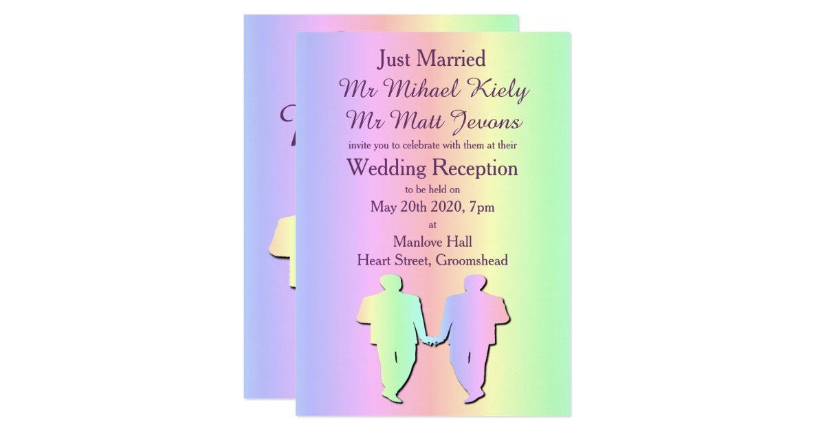 gay pride invitation
