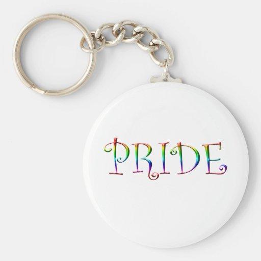 Rainbow PRIDE Key Chains