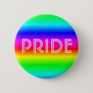 Rainbow Pride LGBTQIA Button