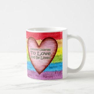 Rainbow Pride Love Mug